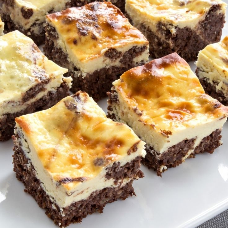 A Delicious recipe for brownie cheesecake bites. Enjoy with a glass of milk or hot coffee.