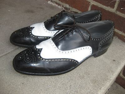 50 s rockabilly s shoes two tone wingtip miehelle