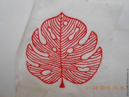 Купить Штамп для печати на ткани - хобби, ручная набойка, деревянные штампы, штампы для творчества