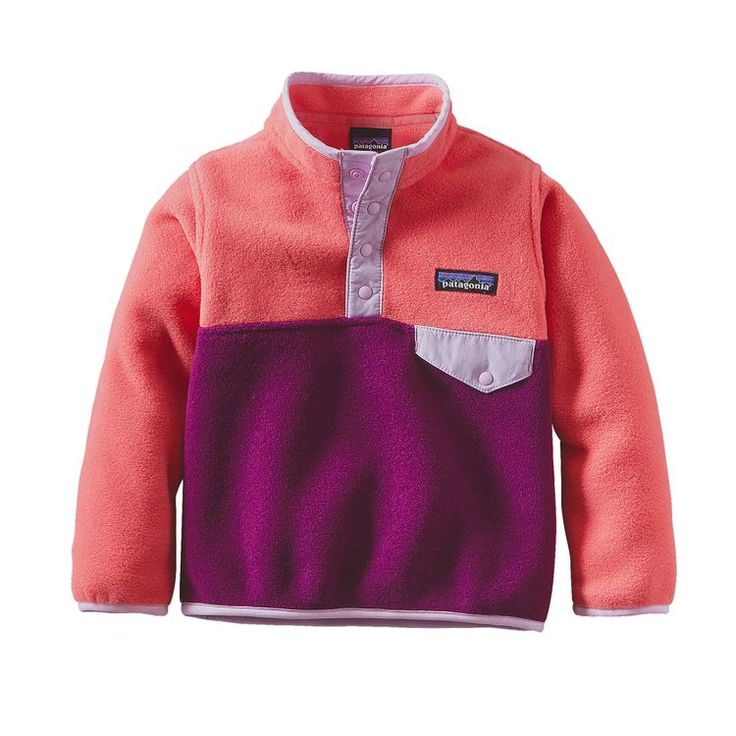 BABY LW SYNCHILLA SNAP-T P/O, Violet Red (VIO)