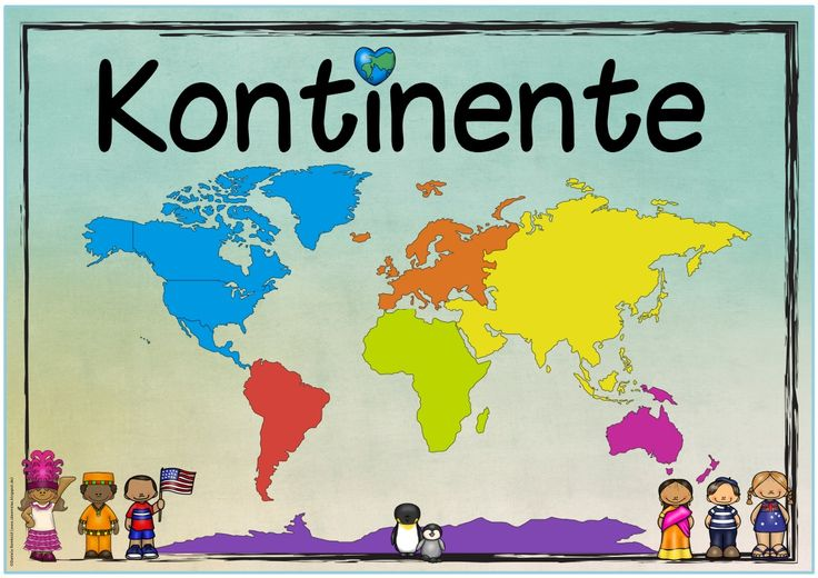 """Neues Themenplakat Heute gibt es ein Plakat zum Thema """"Kontinente/Die Welt"""", das ichgerade im Sachunterricht meiner Klasse durchnehme. ..."""