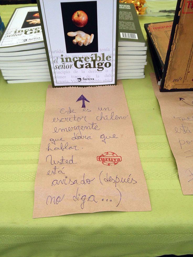 """""""El increíble señor Galgo"""" en Primavera del libro 2014 - Parque Bustamante"""