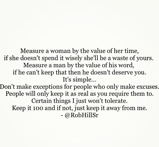 It's simple...