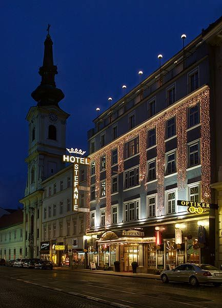 oh, you know, just my private hotel in Vienna, definitely on my bucket list