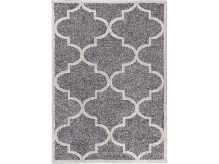 Dywan Carpetforyou Light Collection Talizman Gray to nowoczesny dywan utrzymany w odcieniu szarości z eleganckim wzorem, który nadaje mu elegancji. Dywan Carpetforyou Light Collection Talizman Gray zo ...