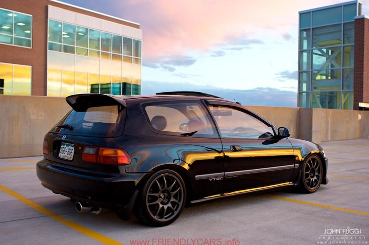 nice 1995 honda civic hatchback si car images hd JohnFuggicom Grey Hatchers JDM RHD Honda Civic Hatchback