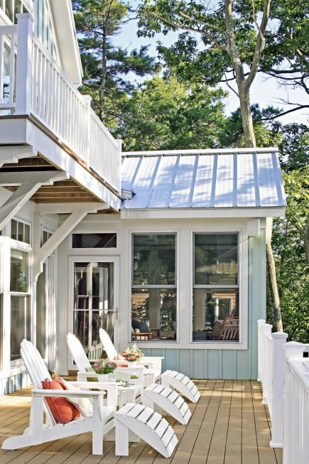 53 best covered 2nd floor deck sunroom images on pinterest for Midwest living house plans