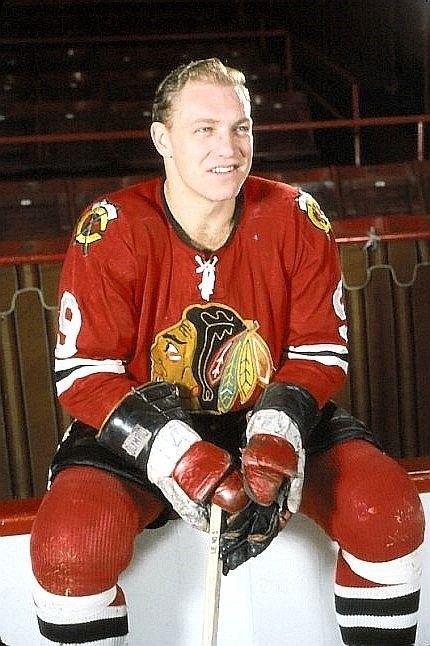 1960's original slide transparency bobby hull #Chicago black hawks beauty ! from $0.99