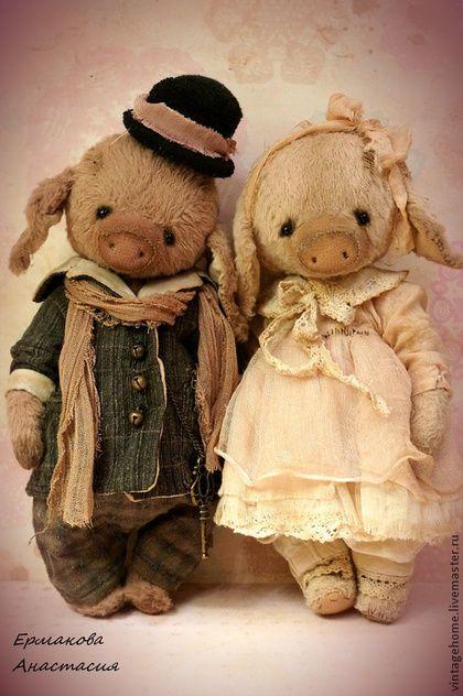 #teddy_bear #pig