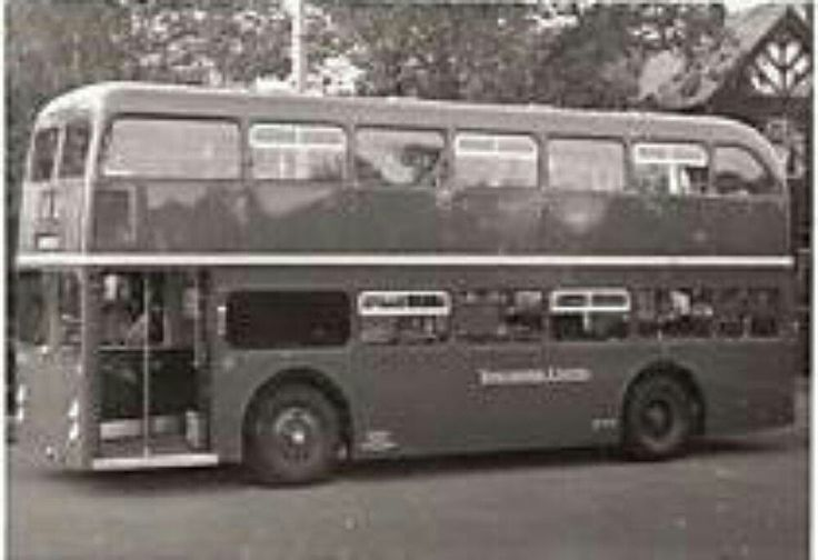 Solitary Guy Wulfrunian bodied by Northern Counties for LUT. A bus ahead of it's time, but the shape of things to come.