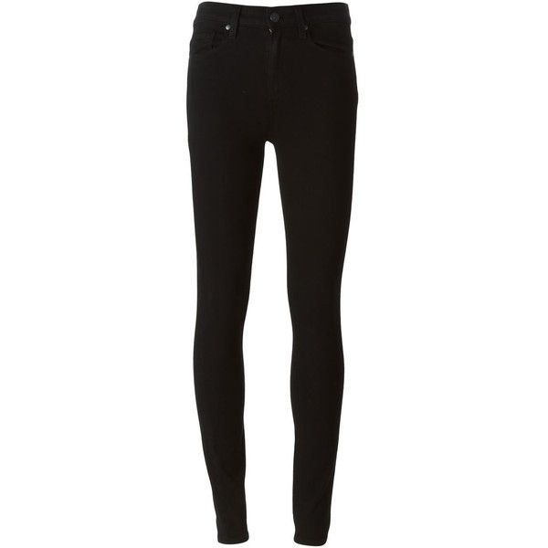 Paige Skinny Jeans ($350) ❤ liked on Polyvore featuring jeans, pants, bottoms, black, black jeans, denim skinny jeans, paige denim, skinny fit jeans and skinny jeans