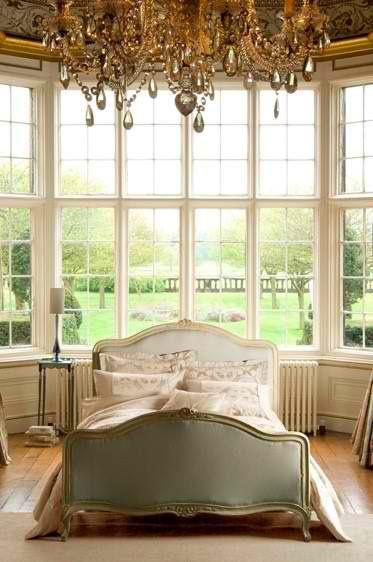 Luxury in the bedroom.