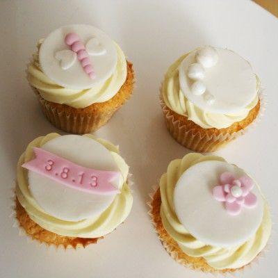 delikatne cupcakes na letni ślub