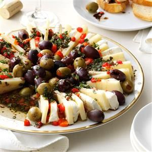 Marinated Olive & Cheese Ring Recipe from Taste of Home