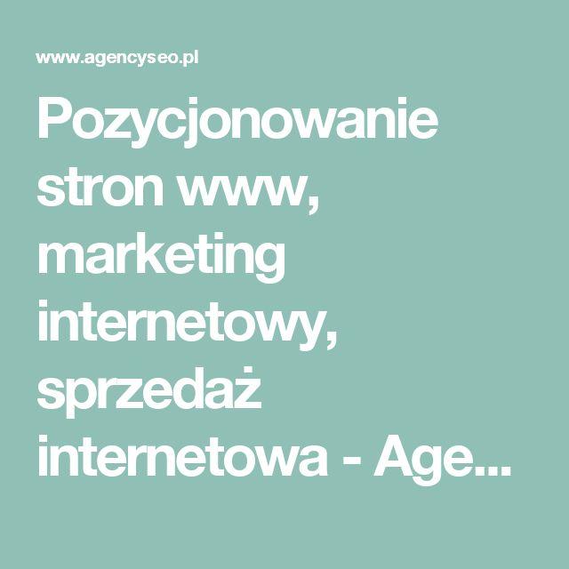 Pozycjonowanie stron www, marketing internetowy, sprzedaż internetowa - Agencja SEO Dominik Musiał - Jędrzejów - Świętokrzyskie