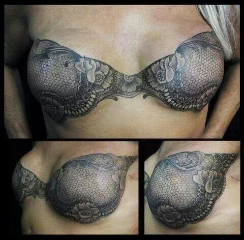 Mastectomy scar cover up by Shane Wallin