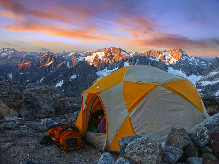 """GOING THIS SUMMER!!! :D  Sahale Glacier Camp, Washington 
