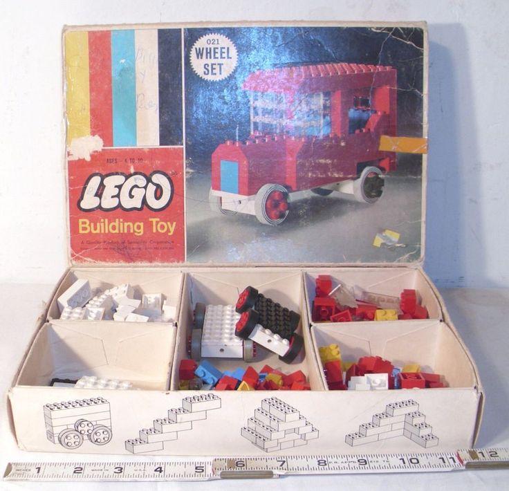 LEGO WHEELS BUILDING SET #021 BOXED VINTAGE  #Lego