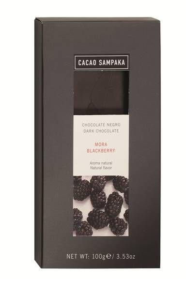 C Sampaka 100g. Ciocolata neagra cu mure