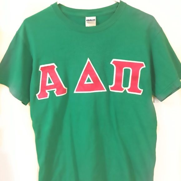 Alpha Delta Pi sorority t shirt Size small, plain on the back, cotton t shirt Tops Tees - Short Sleeve