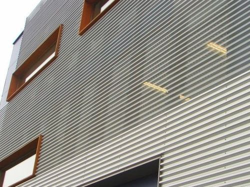 Front Elevation Sheets : Sheet metal cladding alubel elevations pinterest