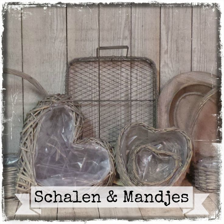 Schalen & Mandjes