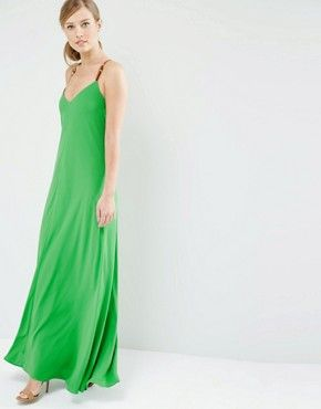 Ted Baker Desile Maxi Dress with Cross Back