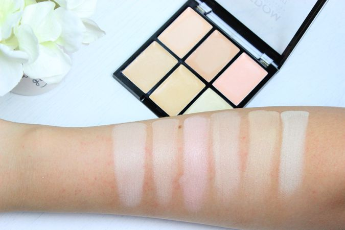 Freedom Makeup Pro Conceal & Correct Palette - Light