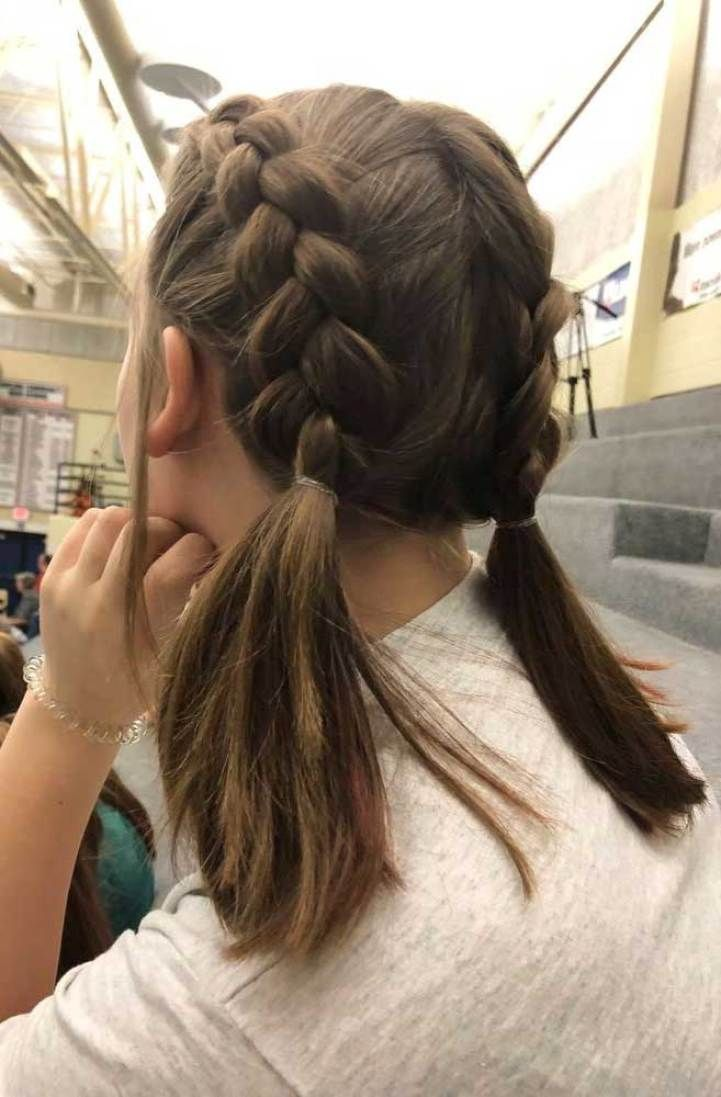 47 Pretty Braids And Braided Hairstyles That Are Really Awesome Braids Hairstyle Braids Hairstyles 2019 Braided Short Hair Updo Short Hair Styles Hairstyle