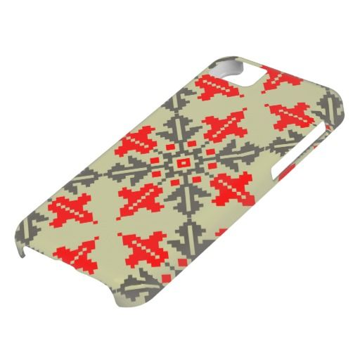 Romanian traditional pattern iPhone 5C cover