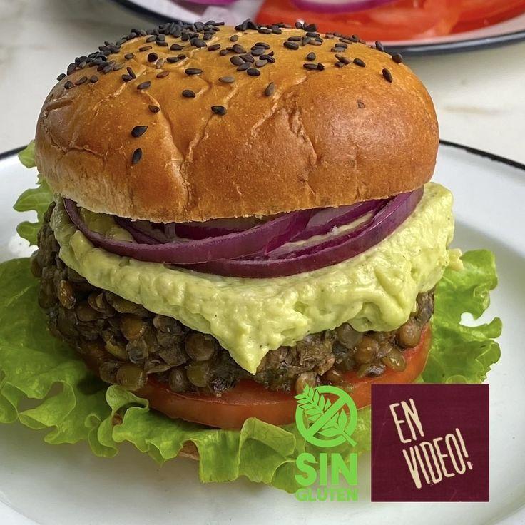 Hamburguesa de Lentejas Sin Gluten, Salmon Burgers, Scones, Hamburger, Easy Meals, Healthy Recipes, Chicken, Ethnic Recipes, Food