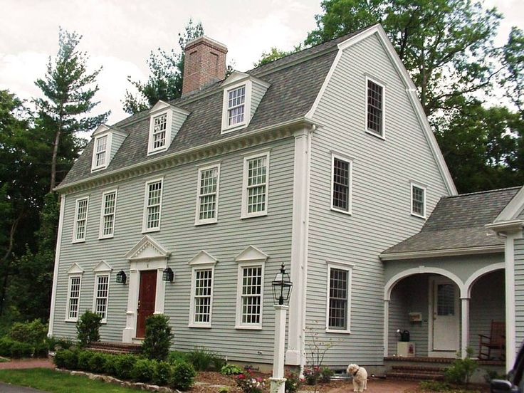 221 best images about saltbox someday on pinterest for Colonial saltbox house plans