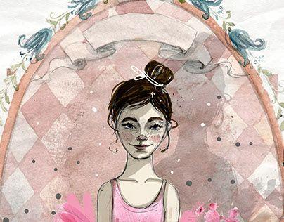"Check out new work on my @Behance portfolio: ""Little ballerin"" http://be.net/gallery/43929483/Little-ballerin"