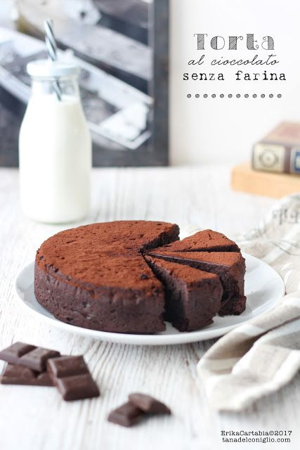 La tana del coniglio: Torta al cioccolato senza farina