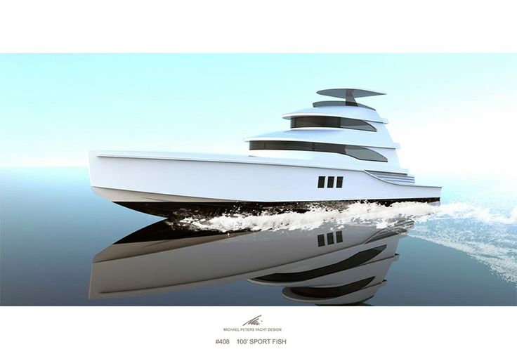 Michael Peters Yacht Design 110' Custom Sportfish