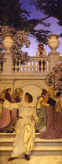 """""""florentine fete"""" by maxfield parrish"""