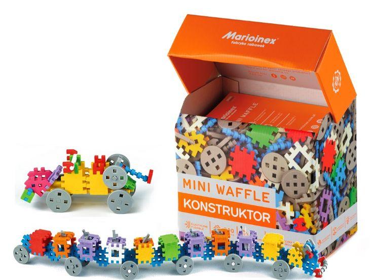 Mini Wafle Klocki Konstrukcyjne 300szt Konstruktor Toy Chest Toys Birthday