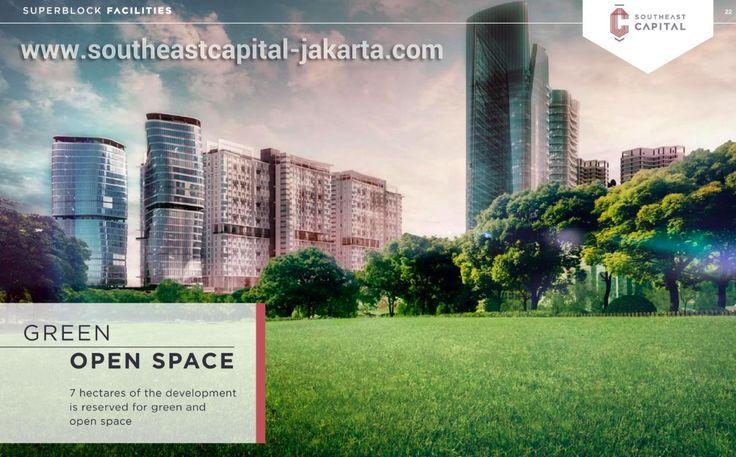 Southeast Capital Jakarta Green Space Area.