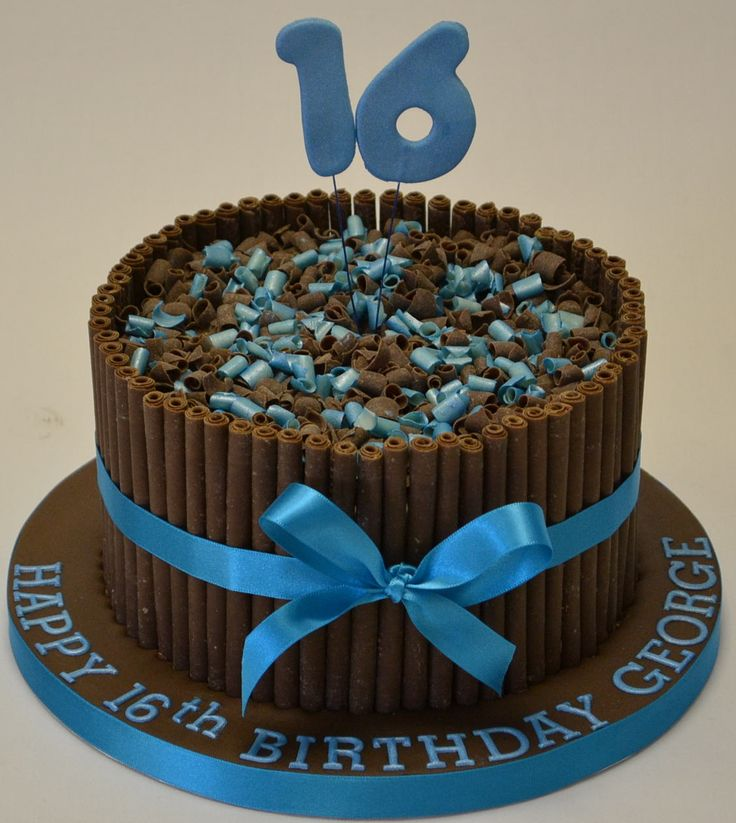 Birthday Cake Designs For 16 Year Old Boy : Boy 16th birthday, Birthday cakes for boys and 16th ...