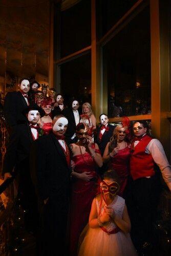 58 best phantom of the opera theme wedding images on Pinterest ...