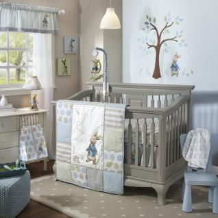 Hop into a brand new adventure with our favorite little bunny in the blue jacket,  Peter Rabbit.  This beloved classic character has been given a modern update with contemporary stripes and dots.
