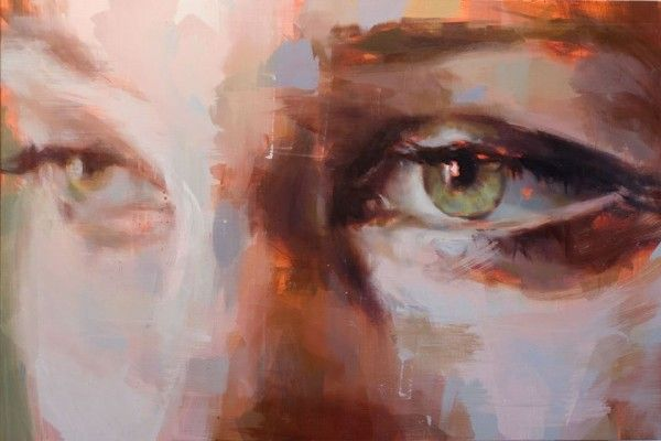 Come Closer: Jerome Lagarrigue - artsy forager #art #painting #eyes