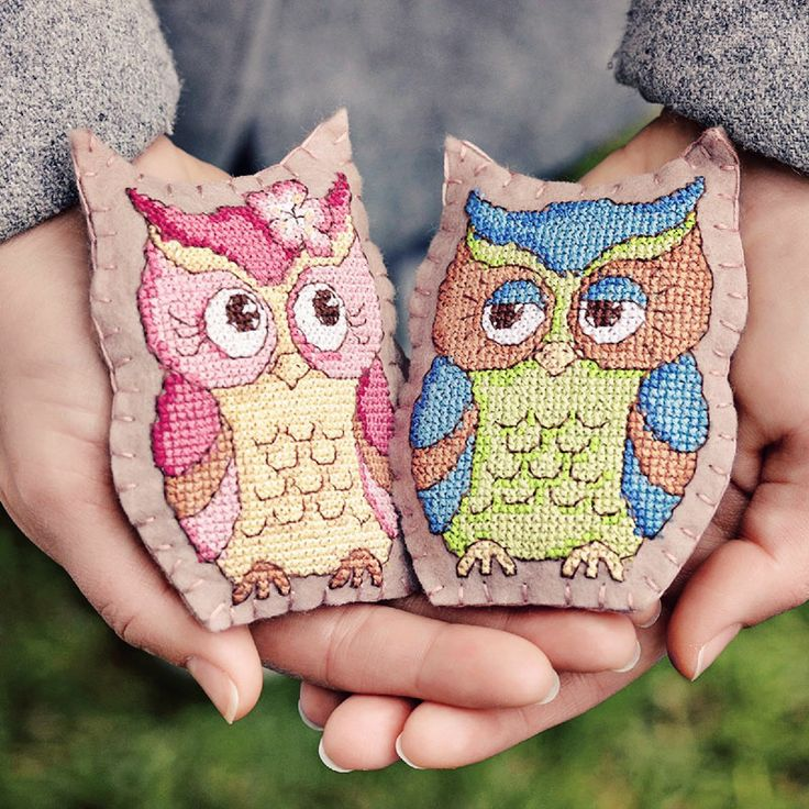 Owl Keep You Warm - Available in CrossStitcher Magazine 273
