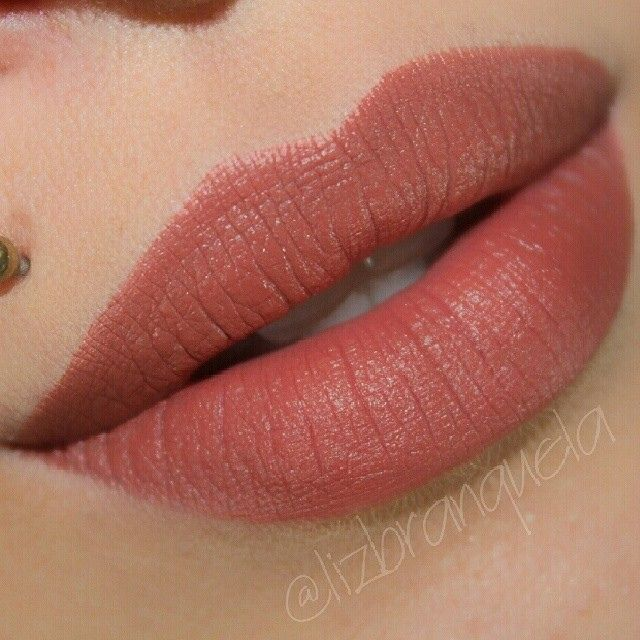 Another one of my faves. MAC lipstick in Taupe (matte)