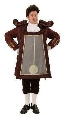Image result for beauty and the beast cogsworth costume