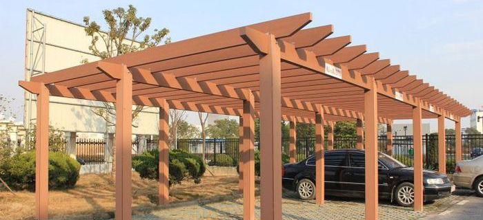 Outdoor Furniture Composite Pergola
