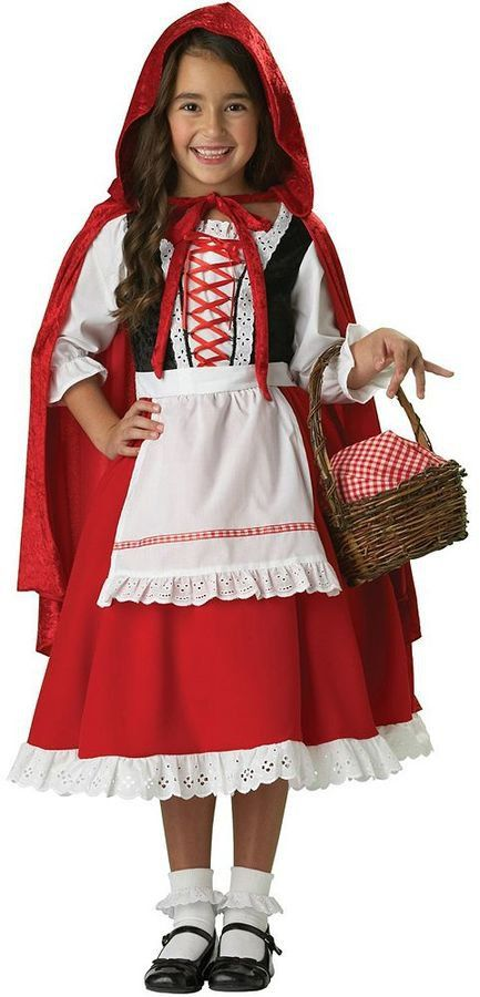 Pin for Later: 169 Warm Halloween Costume Ideas That Won't Leave Your Kids Freezing Little Red Riding Hood Elite Collection Costume Little Red Riding Hood Elite Collection Costume ($110)