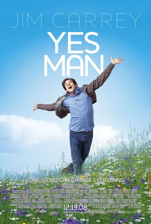 Yes Man Movie Poster - One of the funniest movies!