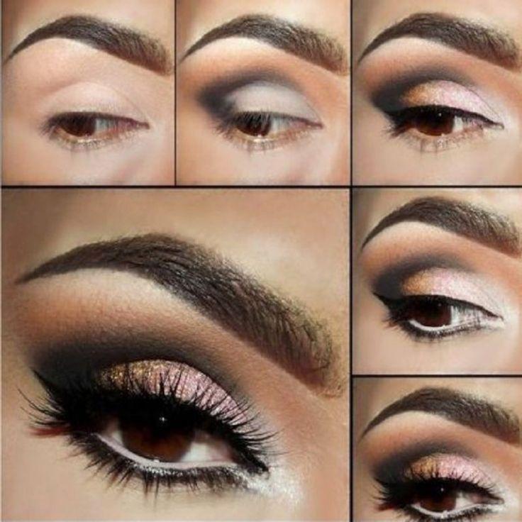Wie man ein schönes Augen Make-up macht? | Mode | Make up ...