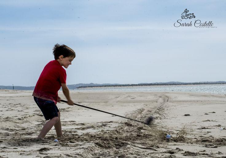 My handsome boy #GolfDay #BeachDay